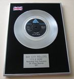 BAY CITY ROLLERS - IT'S A GAME Platinum Single presentation Disc
